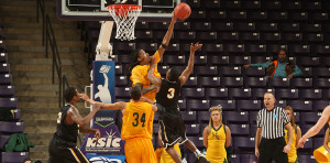 Missouri Southern will face Central Missouri in the first semifinal of NCAA D-II regionals in men's basketball (photo/MSSULions.com)