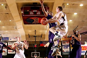 College of the Ozarks men advance to the 2nd round. (photo/NAIA)