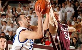 The College of the Ozarks fell in the second round to Bethel, Ind.  (photo/NAIA)