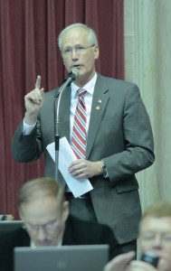 House Budget Committee Chairman Rick Stream (photo courtesy; Tim Bommel, Missouri House Communications)