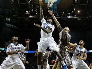The Saint Louis Billikens earned a No. 5 seed in the NCAA Tournament. (photo/SLU Athletics)