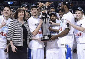 The Saint Louis Billikens are looking for a strong run in the A-10 tournament. (photo/SLUBillikens.com)