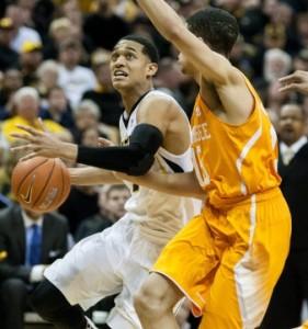 Missouri goes for the season sweep over Tennessee. (photo/Mizzou Athletics)