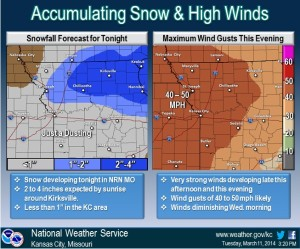 The latest weather graphic from the National Weather Service office in Pleasant Hill.
