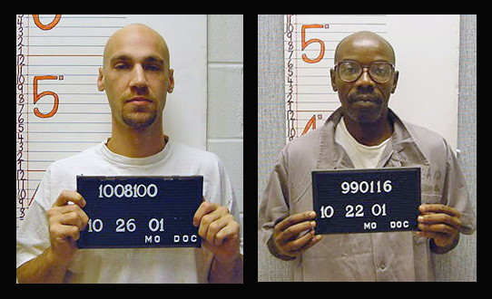 Michael Shane Worthington (left) and Leon Taylor enter the next phase in the death penalty process.
