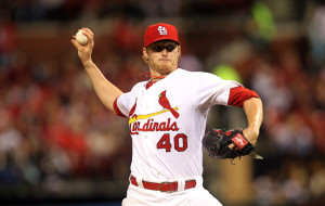 St. Louis Cardinals starting pitcher Shelby Miller delivers a pitch to the Pittsburgh Pirates in the fourth inning at Busch Stadium in St. Louis on April 25, 2014.   UPI/Bill Greenblatt