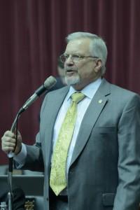 Representatve Doug Funderburk (photo courtesy; Tim Bommel, Missouri House Communications)