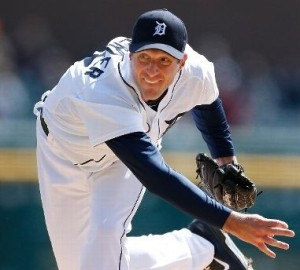 Max Scherzer held the Royals in check for eight innings on Wednesday afternoon. (photo/MLB)