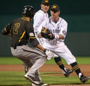 Mizzou baseball vs. Wichita State. (photo/Mizzou athletics)