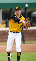 Keeton Steele, SEC pitcher of the week. (photo/Mizzou athletics)