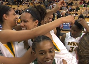 Rock Bridge won the Girls Class 5 Championship (photo courtesy, ABC 17)