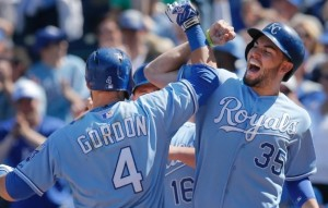 Alex Gordon needs to step up production at the plate. (photo/MLB)