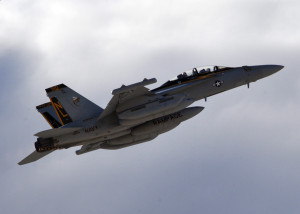 A Boeing EA-18G Growler (courtesy; Wikimedia Commons)