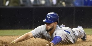 Eric Hosmer . (photo/MLB)