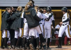 Mizzou softball is back home this weekend hosting regionals (photo/Mizzou)