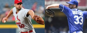 Adam Wainwright and James Shields are tough to be on the road (MLB photos)