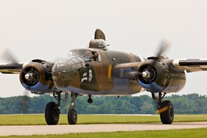 "The WWII-era B-25 bomber the ""Axis Nightmare"" will come to Jackson County Saturday from the Tri-State Warbird Museum in Cincinnati, Ohio."