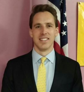 Associate Professor of Law at the University of Missouri, Josh Hawley
