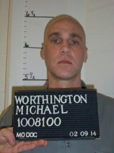 Michael Shane Worthington (Courtesy; Missouri Department of Corrections)