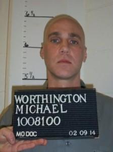 Michael Shane Worthington (Courtesy; Missouri Department of Corrections)