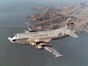 A C-124 Globemaster II (courtesy; Wikipedia commons)