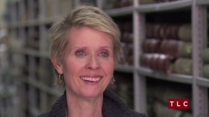 "Television star Cynthia Nixon is featured on the TLC program ""Who Do You Think You Are?"""