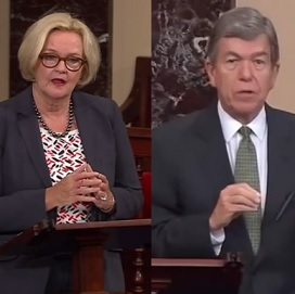 Senators McCaskill and Blunt feature