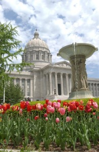 Governor Jay Nixon says events in the State Capitol should not include the selling of alcohol.  (photo courtesy; Tim Bommel, Missouri House Communications)