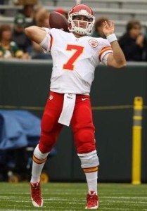Is Aaron Murray the odd QB out in KC?