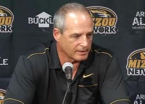 Gary Pinkel answers questions regarding the Derrick Washington investigation and how the university handled it