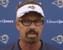Gregg Williams says he's truly happy to be back in Missouri.