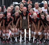 Central Missouri volleyball will defend their league title in the MIAA (photo/UCM Athletics)