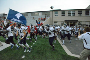 Missouri Baptist takes the field for the first time in football (photo/mbuspartans.com)