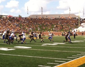 South Dakota State held the ball for nearly 14 minutes in the third quarter (photo/Emily Dayton)