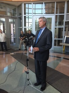 St. Louis County Prosecutor Bob McCulloch (courtesy; @AllisonBlood on Twitter)