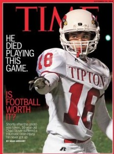 Chad Stover's story is remembered one year later. (Photo/Time Magazine)