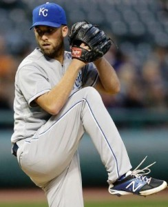 Danny Duffy returned to the mound as the Royals inch closer to post season (photo/MLB)