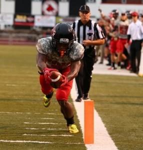 LaVance Taylor (photo/UCM Athletics)