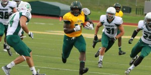 Northwest Missouri State held down one of the top rushing teams in the MIAA. (photo/MSSU athletics)