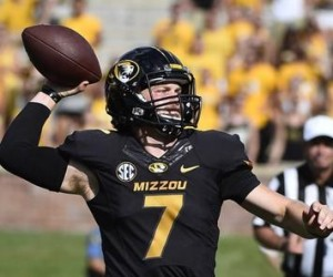 Maty Mauk and the Tigers return to Faurot Field to face UCF at 11 a.m. on Saturday (photo/Mizzou Athletics)