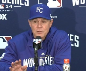 Ned Yost still likes his team's chances for Game 6 and 7.
