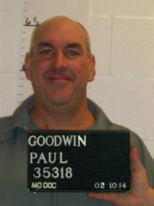 Paul Goodwin (courtesy; Missouri Department of Corrections)