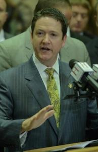 House Speaker Tim Jones (photo courtesy; Tim Bommel, Missouri House Communications)