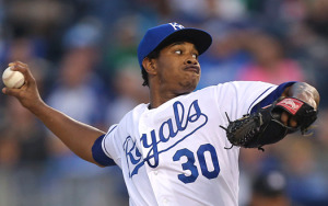 If the rookie, Yordano Ventura, can turn in a quality start, it bolsters the chances of a Game 7 (photo/MLB.com)