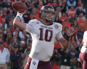 Mizzou will see freshman QB Kyle Allen on Saturday (photo/12thman.com)
