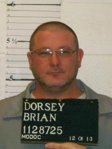 Brian Dorsey (photo courtesy; Missouri Department of Corrections)