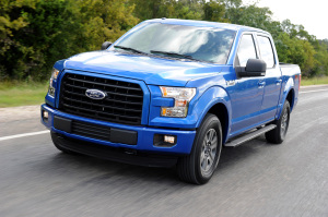 The 2015 Ford F-150 will be built at the Claycomo, Missouri Ford plant.  (photo courtesy; Ford Motor Company, Photo by: Sam VarnHagen)