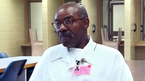 Leon Taylor as he appeared in the 2012 documentary Potosi:  God in Death Row.  Taylor is scheduled to be executed early Wednesday morning at the prison in Bonne Terre.