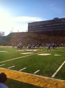 Faurot Field in Columbia (photo/Emily Dayton)