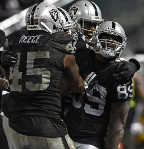 The Oakland Raiders snapped a 16-game losing streak against the Chiefs (photo/NFL)